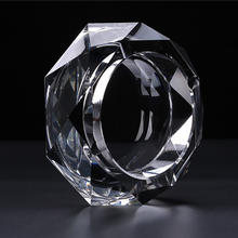 2019 Wholesale High Quality Crystal Glass ashtray
