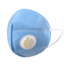 Dust protection anti dust filter mouth nose KN95 face mask with valve  reusable industry