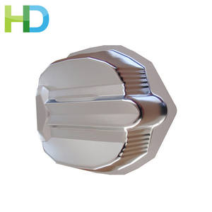 Parabolic shape aluminum metal light safety reflector