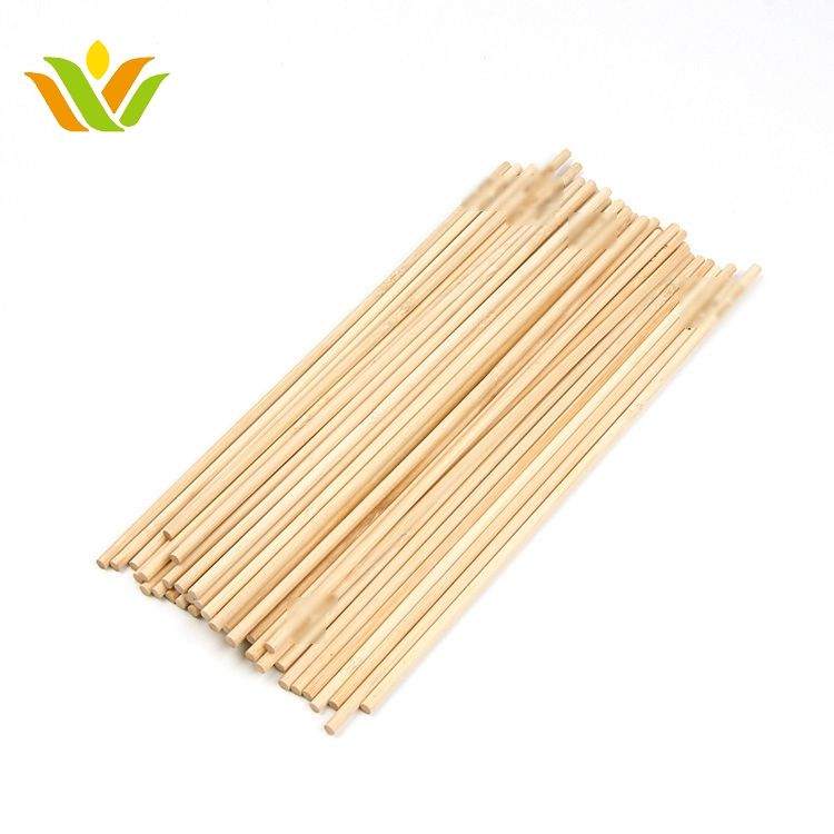 Double prong flat safe bamboo skewers