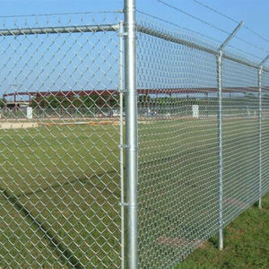 5 6 8 foot Galvanized Used Chain Link Fence For Sale