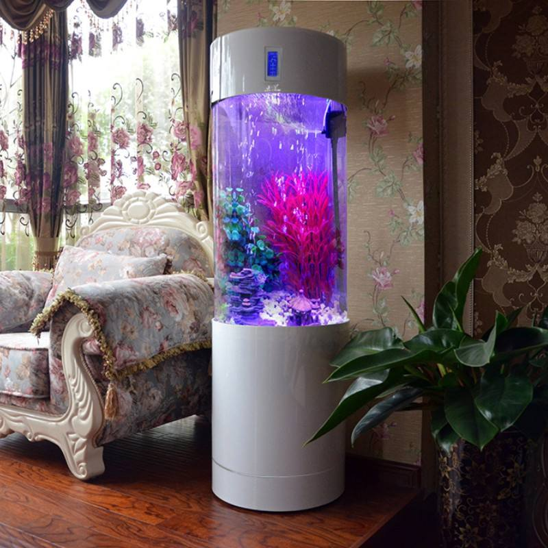 Large Cylinder Acrylic Aquariums 1.5m Height