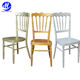10 Years experience antique napoleon wedding chair for banquet hall
