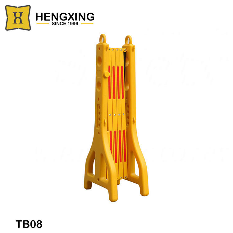 TB08 temporary plastic expanding safety barrier