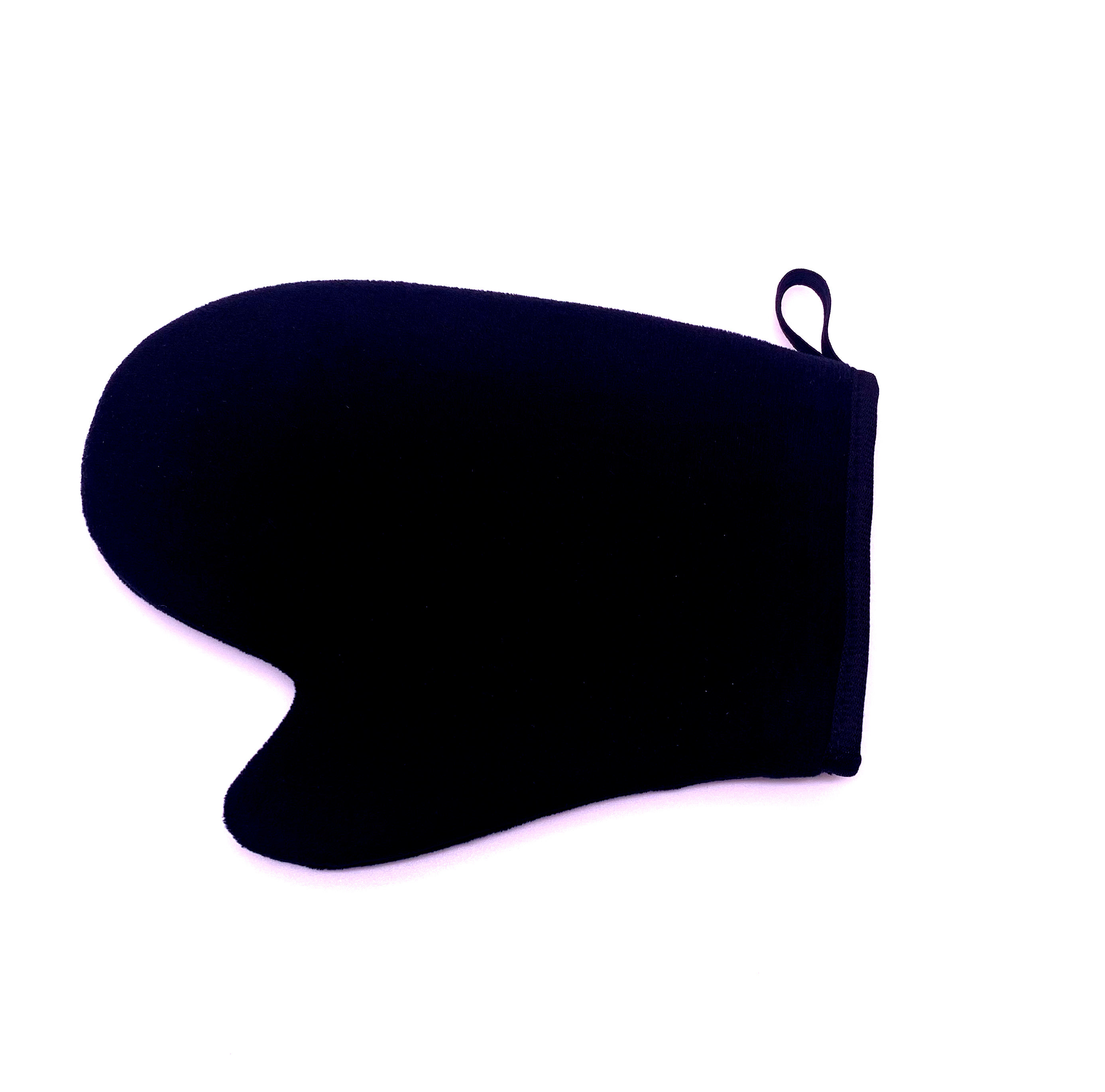 High Quality Padded Microfiber Black Self Tanning Mitt Soft Applicator Mitt 21.5cm*11cm