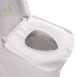 Disposable 1/2 fold Toilet Seat Covers Paper
