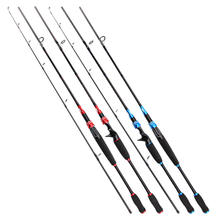Peche 2 Sections Saltwater Fishing Tackle Carbon Spinning Casting Fishing Rod Hard Carbon Fishing Rods