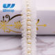 fashion white pearl lace trim for garment accessories