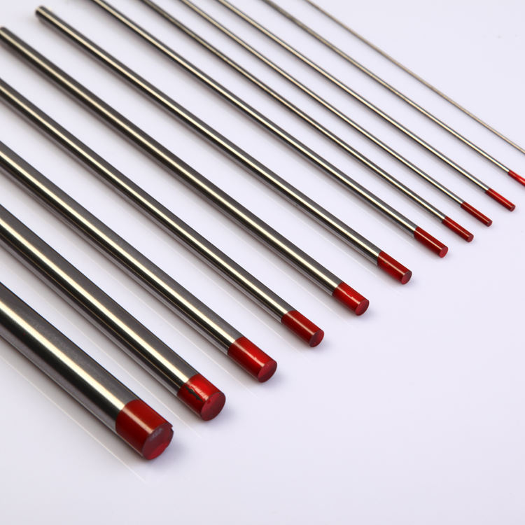 WT20 2.4mm tig welding tungsten electrode rods with high quality