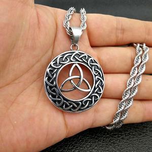 ORDRM Vintage Mens Celtic Jewelry Necklace Pendant