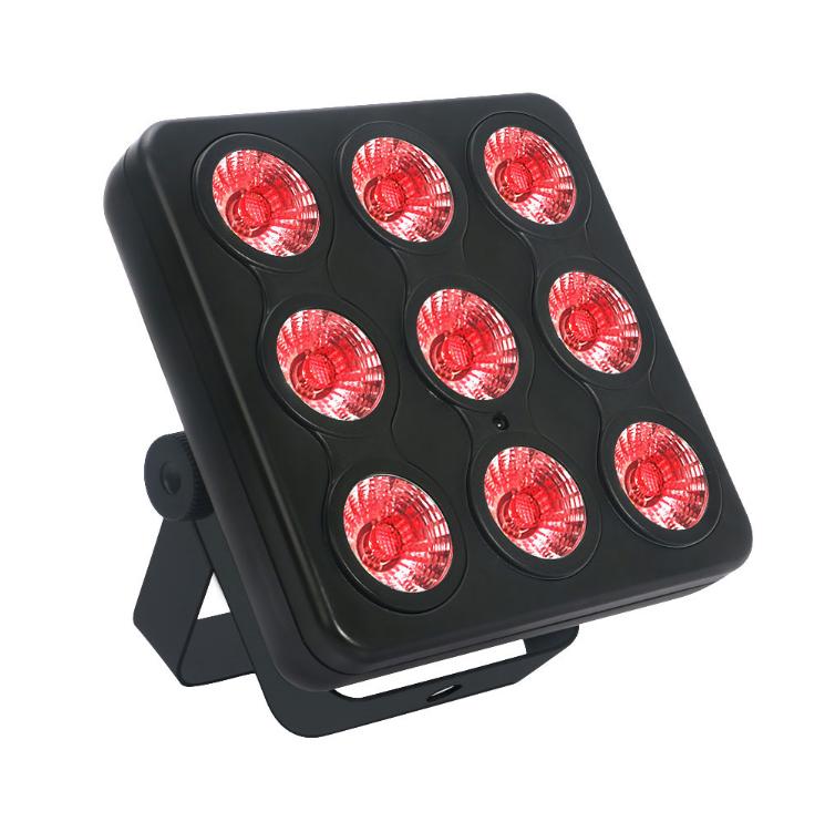 36 Вт RGBW матрица света DMX света номинальной этапе с пультом дистанционного управления для освещения сцены