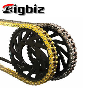 BIZ125CC 34T-14T Chain and Sprocket Kit for Motorcycle Transmission.
