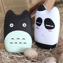 12000mAh 3D Cute Totoro Cartoon Portable Power Bank 2USB External Charger
