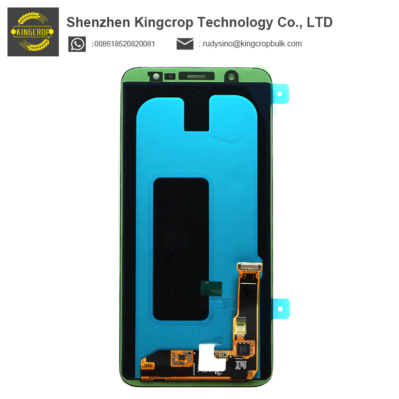 Original quality and good price lcd panel for Samsung galaxy A6 Plus 2018 A605 lcd Display Touch Screen Digitizer Assembly
