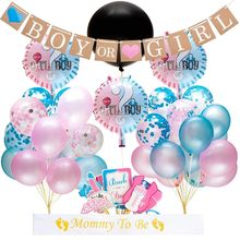 Baby Shower Decorations Gender Reveal Party Supplies For Girl And Boys