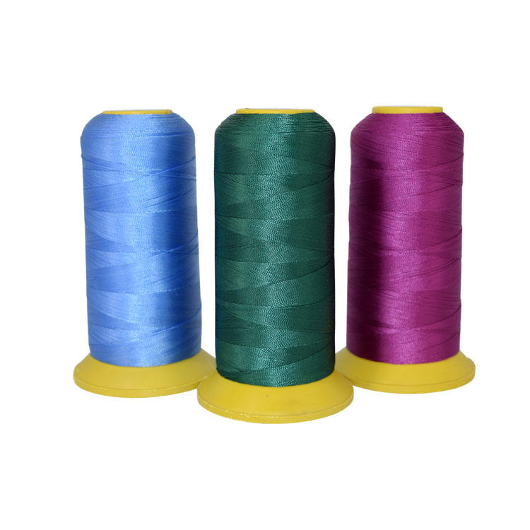 60/2 40/3 30/3 20/3 250D/3 high tenacity 100% polyester sewing thread