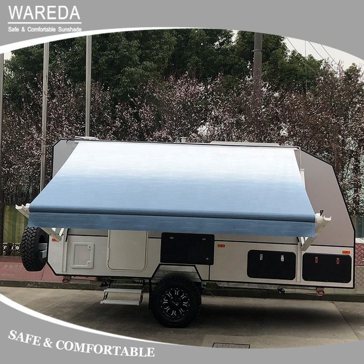 Electric Roll Out RV Caravan Awning, Power Motorhome Awning