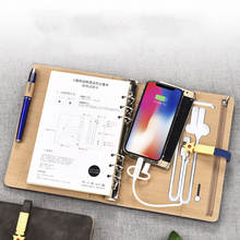 Wholesale Paper Journal Gift Set With Power Bank Making Supplies