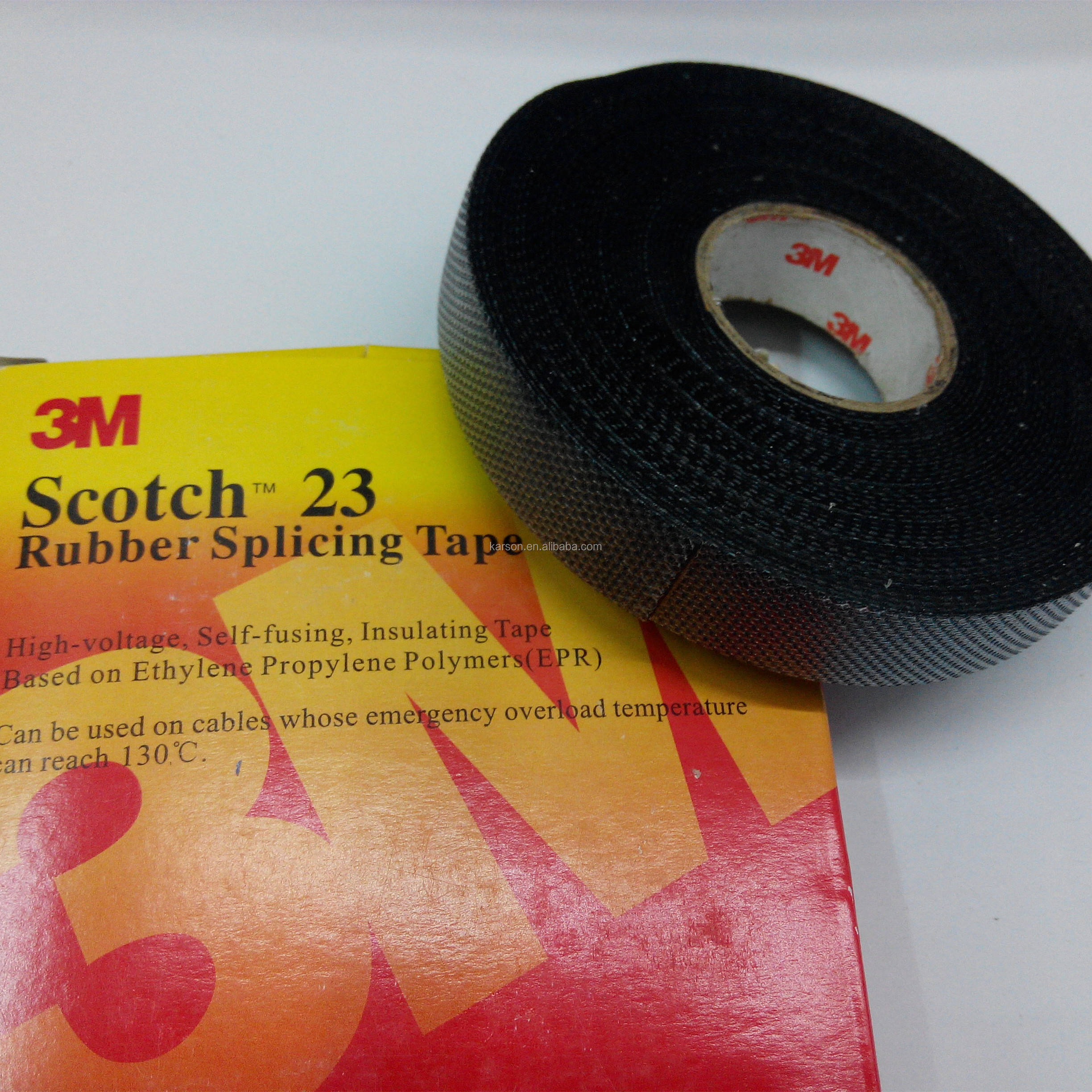 Hoogspanning elektrische tape 23 Rubber tape 19mm breed