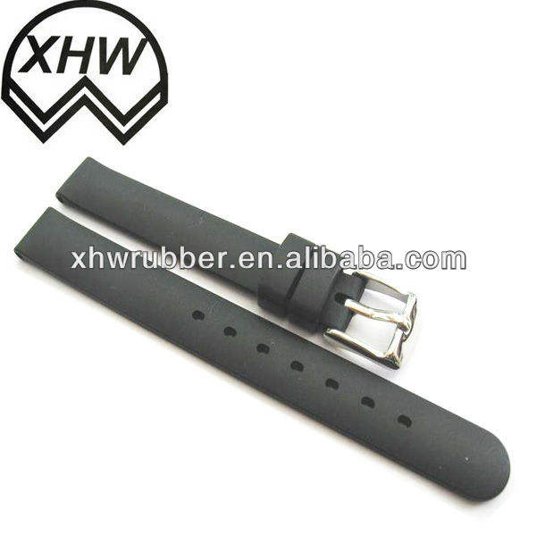 high quality fashion rubber watch strap/silicone watch strap wholesale new 2013