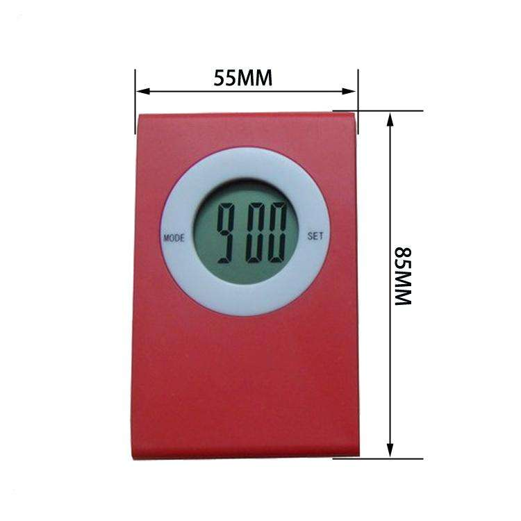 New Design Cute 전자 Gift Mini Clip LCD Digital Alarm Clock