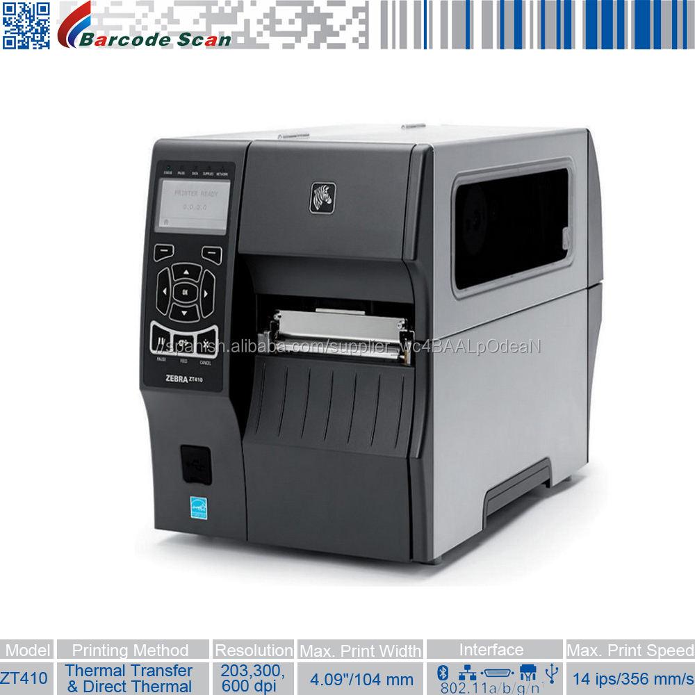 Durabilidad reforzada con muchas funciones Impresoras industriales serie Zebra ZT410