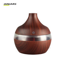 Wood Grain Essential Oil Aromatherapy Diffuser USB Charging Home Air Humidifier Purify nebulizer portable Mist Maker