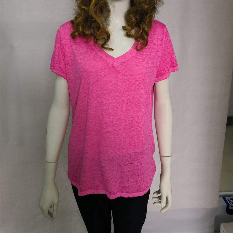 Wenzhou Vintage City Adult Tri-Blend V-neck T-shirt