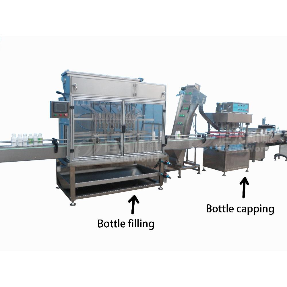 automatic cleaning material filling production line for detergent washing agent
