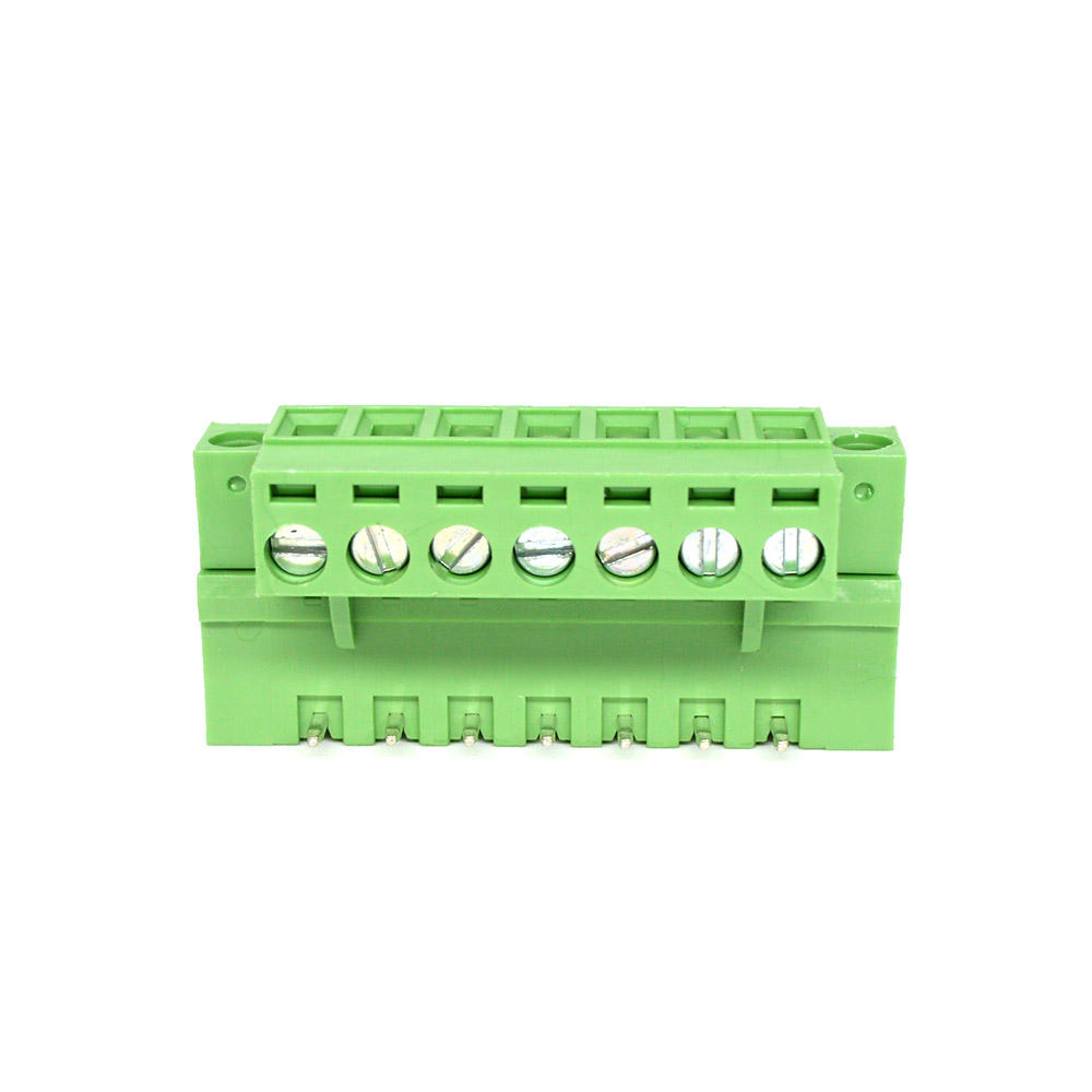 electric 2 way rj45 screw terminal block connector