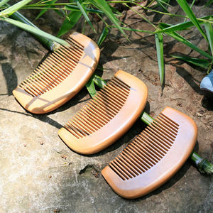 OEM/ODM Private Label Best For Hotel Home Travel Use Biodegradable Eco Bamboo Hair Comb