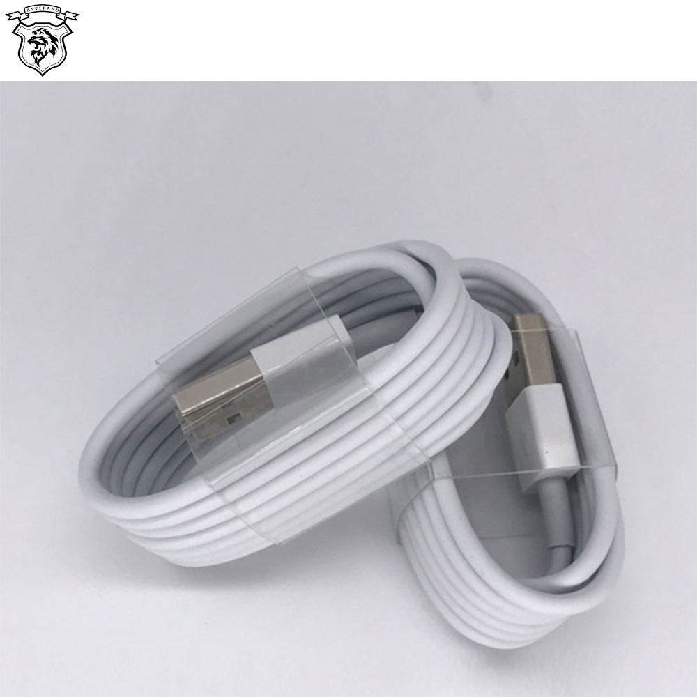 Alta calidad Cable de datos USB Original para iPhone 7 Cable de cargador de Cable USB