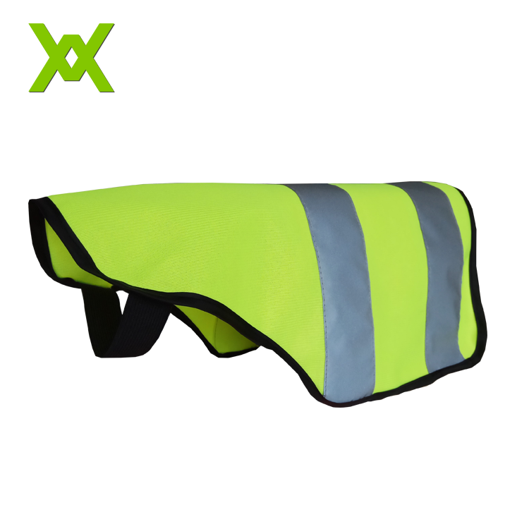 Factory Wholesale High Visibility Fluo Colour Reflective Pet Dog Safety Vest