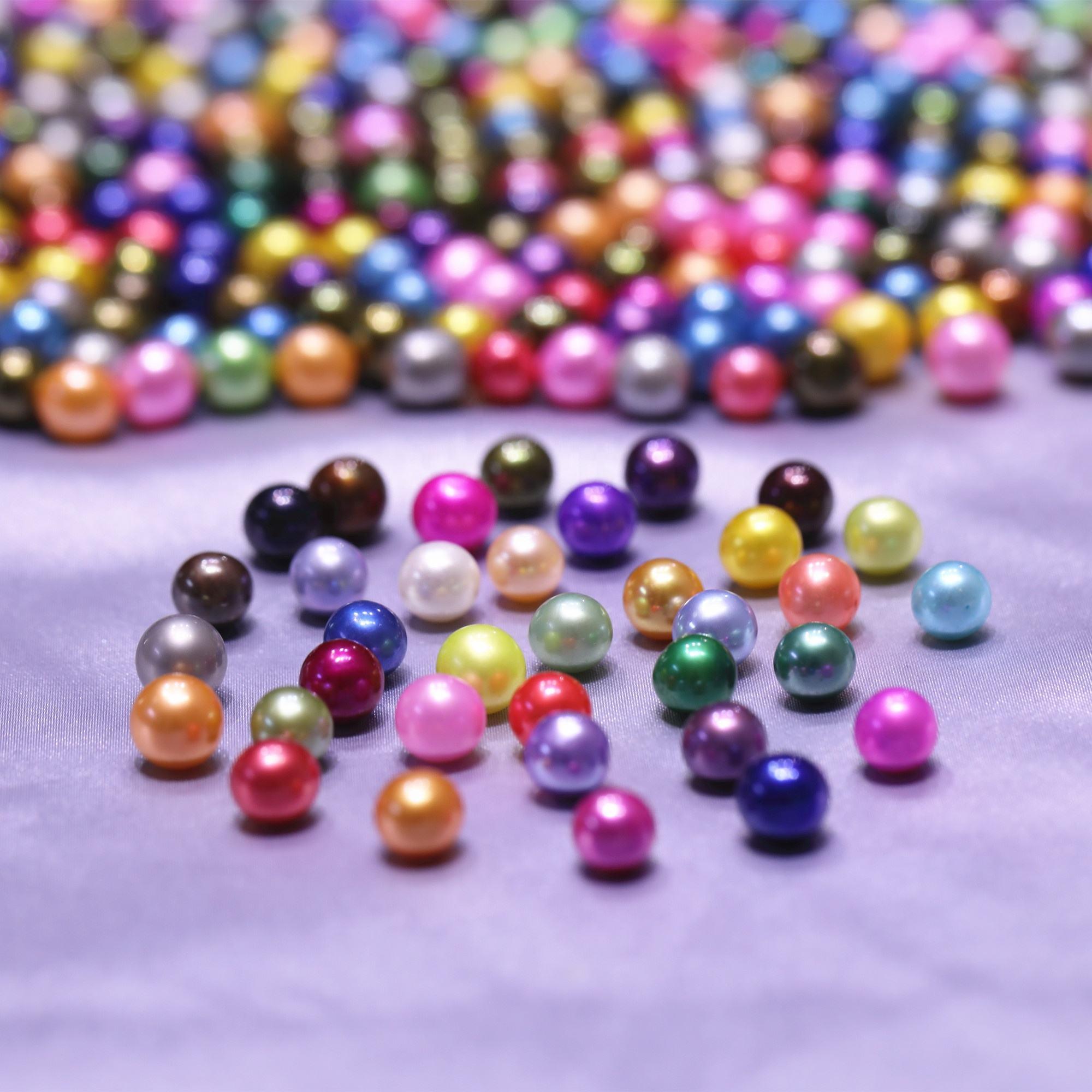 "8-9MM Black Peacock gloss irregular freshwater pearl loose beads 15 /"" AAA+"