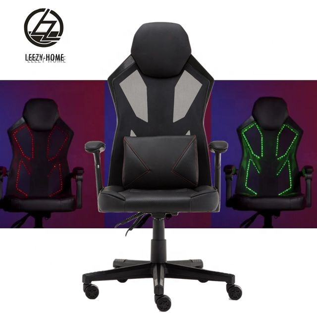 Leezy best gaming chair with LED light LZ-RGB-02