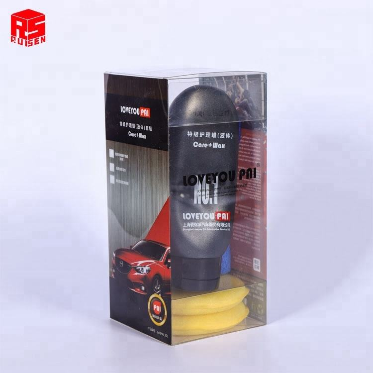 High Quality Transparent Clear bottle packaging boxes