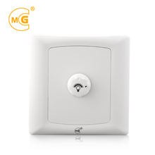 Small rotary wall led light dimmer switch for lamp