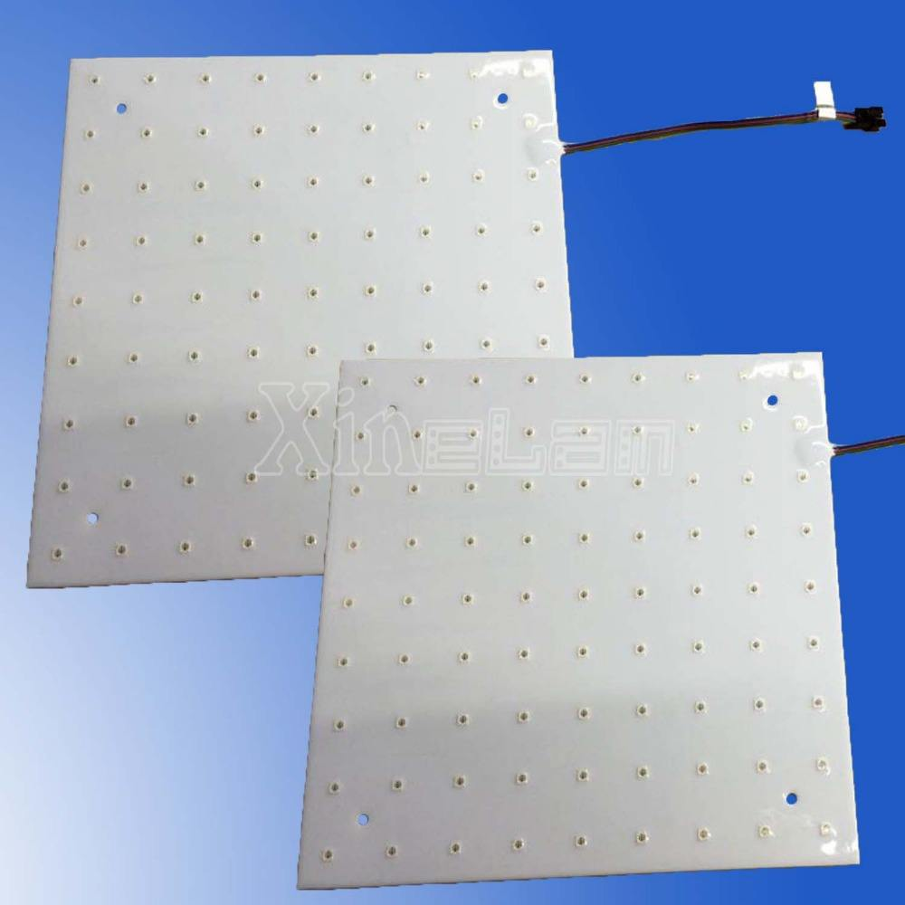 Waterproof RGB 5050 smd square LED panel 20x20