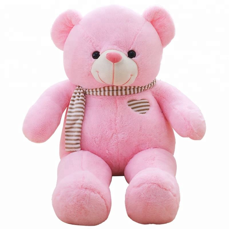love heart shaped teddy bear soft plush