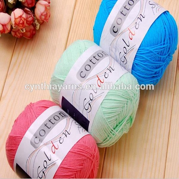 Cynthia Cotton Mercerized Crochet Thread and Yarn