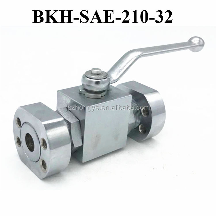 BKH-SAE-210-32 Hydraulic Oil Control Valve For Tractor Argus Ball Valve
