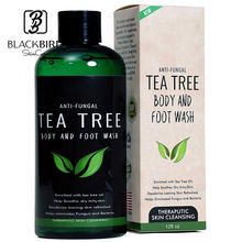 Private Label Natural Tea Tree Oil Antifungal whitening organic body wash