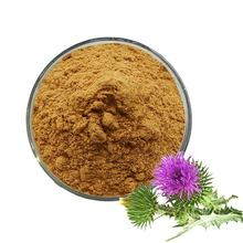 Free Sample Water Soluble 80% Silymarin Powder Milk Thistle Extract