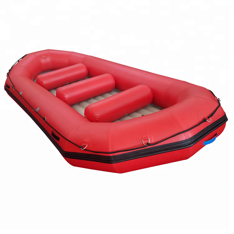 CE Cheap China PVC Rafting Floating White Water Inflatable Raft Boat