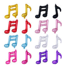 musical note balloons Double notes Single notes balloons for party decoration