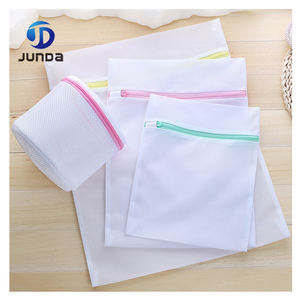 Foldable high quality cheap custom laundry wash mesh bag for home