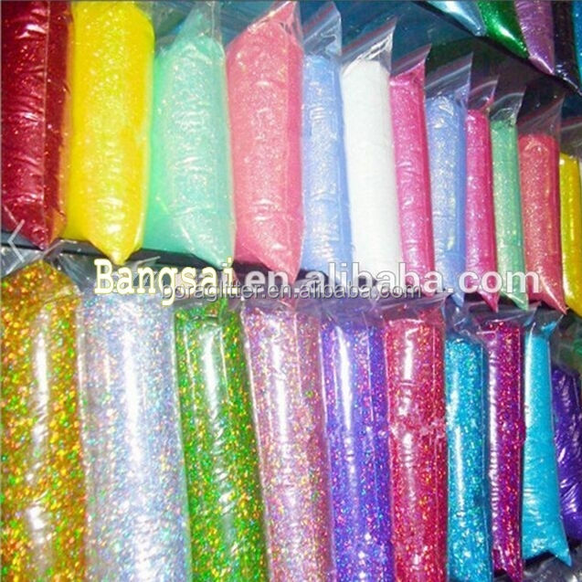 Wholesale Top quality colors bulk glitter for craft decoration