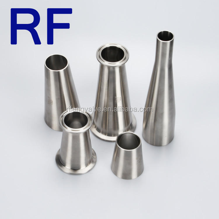 RF Sanitary Stainless Steel RiFeng Manufactured Clamp Fittings