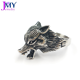 Steel Punk Ring JMY Latest Design Custom 316L Stainless Steel Punk Fox Animal Shape Ring