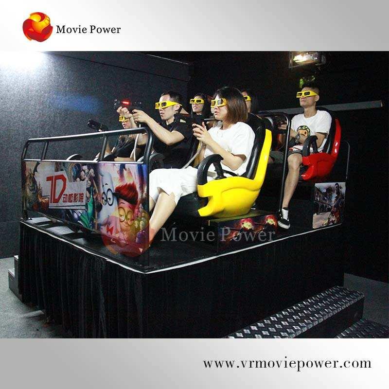 Alemania Acero inoxidable Material 7d cine 9d experiencia de cine